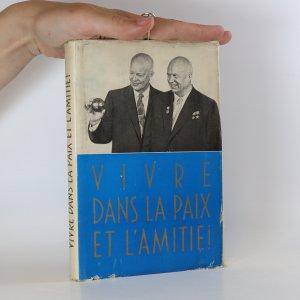 náhled knihy - Vivre dans la paix et l'amitie!