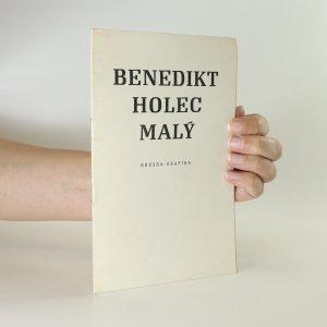 náhled knihy - Benedikt Holec Malý. Kresba. Grafika