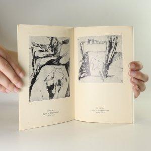 antikvární kniha Benedikt Holec Malý. Kresba. Grafika, neuveden