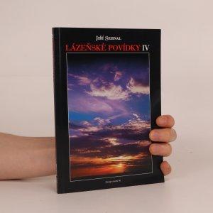 náhled knihy - Lázeňské povídky IV (věnování autora)
