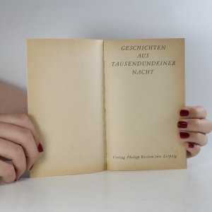 antikvární kniha Geschichten aus Tausendundeiner Nacht in Reimen, neuveden