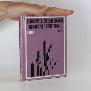 náhled knihy - Betónové a železobetónové monolitické konštrukcie