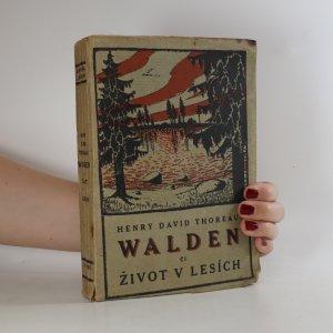 náhled knihy - Walden či Život v lesích