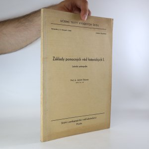 náhled knihy - Základy pomocných věd historických I. (1. díl) Latinská paleografie