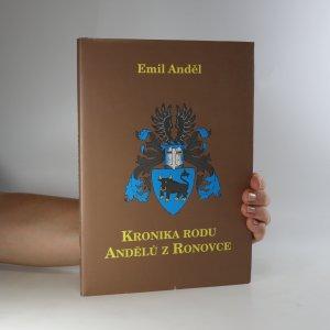 náhled knihy - Kronika rodu Andělů z Ronovce