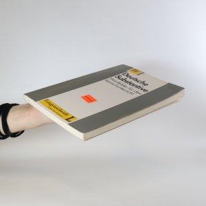 antikvární kniha Deutsche Substantive. Wortfelder für den Sprachunterricht, 1996