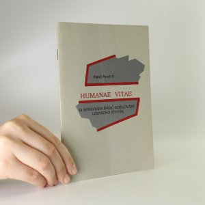 náhled knihy - Humanae vitae. O správném řádu sdělování lidského života