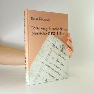 náhled knihy - Berní knihy Starého Města pražského 1427-1434