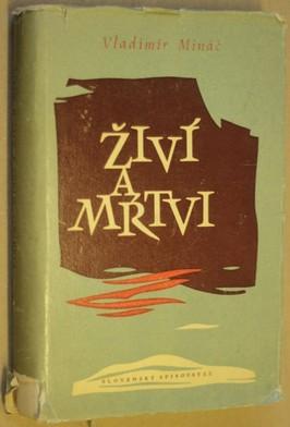 náhled knihy - Živí a mŕtvi