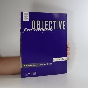 náhled knihy - Objective. First Certificate. Teacher's book