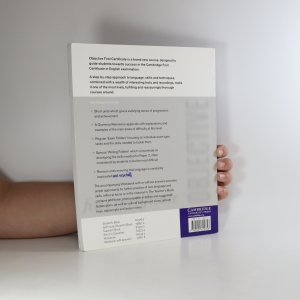 antikvární kniha Objective. First Certificate. Teacher's book, 2002