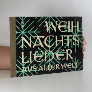 náhled knihy - Weihnachtslieder aus aller Welt