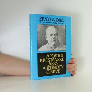 náhled knihy - Život a dílo Dr. Antonína Cyrila Stojana