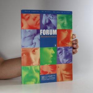 náhled knihy - Forum - Méthode de français 2.