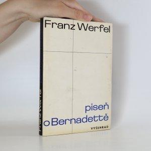 náhled knihy - Píseň o Bernadettě