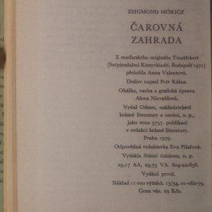 antikvární kniha Čarovná zahrada, 1979