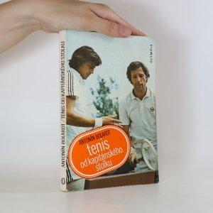 náhled knihy - Tenis od kapitánského stolku