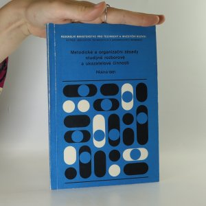 náhled knihy - Metodické a organizační zásady studijně rozborové a ukazatelové činnosti