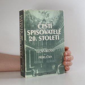náhled knihy - Čeští spisovatelé 20. století