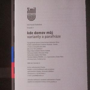 antikvární kniha Kde domov můj. Varianty a parafráze, 2004