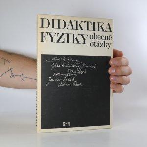 náhled knihy - Didaktika fyziky. Obecné otázky