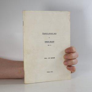 náhled knihy - Přípravné pracovní texty z morální teologie. Díl 1.
