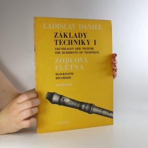 náhled knihy - Základy techniky I. Zobcová flétna. Soprano