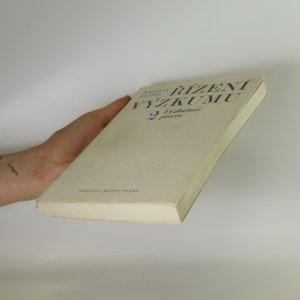 antikvární kniha Řízení výzkumu 2. Výzkumný proces, 1976