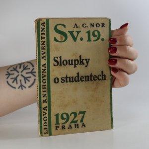 náhled knihy - Sloupky o studentech