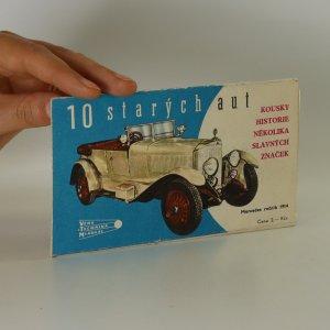 náhled knihy - 10 starých aut