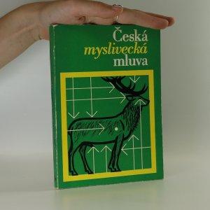 náhled knihy - Česká myslivecká mluva