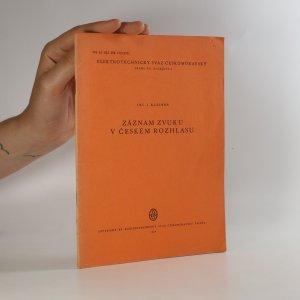 náhled knihy - Záznam zvuku v českém rozhlasu