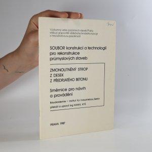 náhled knihy - SOUBOR konstrukcí a technologií pro rekonstrukce průmyslových staveb