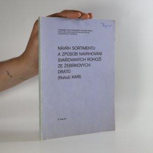 náhled knihy - Návrh sortimentu a způsob navrhování svařovaných rohoží ze žebírkových drátů
