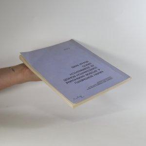 antikvární kniha Návrh sortimentu a způsob navrhování svařovaných rohoží ze žebírkových drátů, 1982