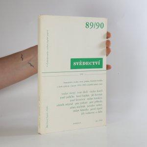 náhled knihy - Svědectví. Dvojčíslo 89/90