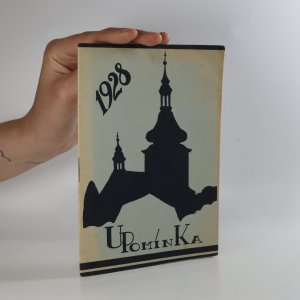 náhled knihy - Upomínka