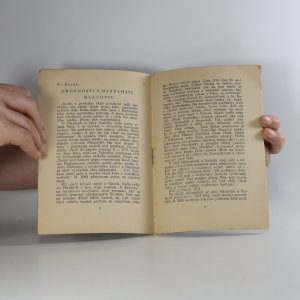 antikvární kniha Upomínka, 1928