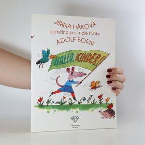 náhled knihy - Hallo, Kinder! Němčina pro malé žáčky