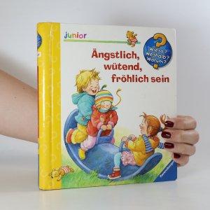 náhled knihy - Ängstlich, wütend, fröhlich sein