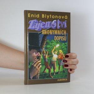 náhled knihy - Tajemství anonymních dopisů