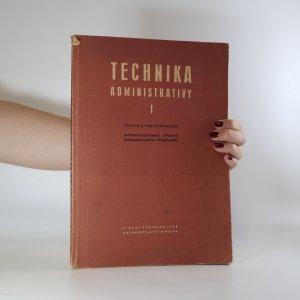 náhled knihy - Technika administrativy 1. Výcvik v psaní strojem