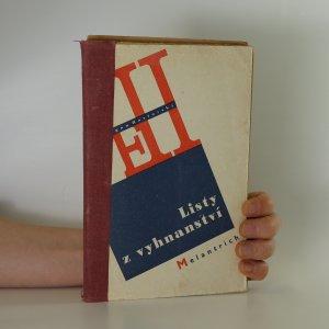 náhled knihy - Listy z vyhnanství