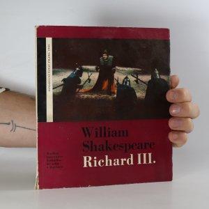 náhled knihy - William Shakespeare. Richard III. Rozbor inscenace Státního divadla v Ostravě