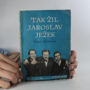 náhled knihy - Tak žil Jaroslav Ježek
