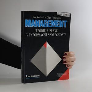 náhled knihy - Management. Teorie a praxe v informační společnosti