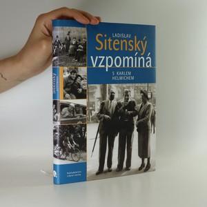 náhled knihy - Ladislav Sitenský vzpomíná s Karlem Helmichem