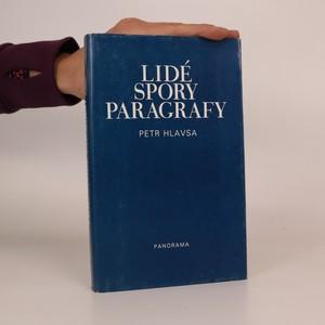 náhled knihy - Lidé, spory, paragrafy