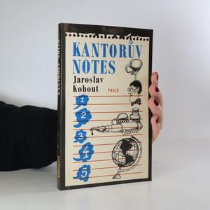 náhled knihy - Kantorův notes