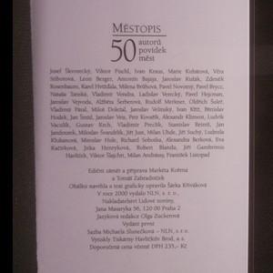 antikvární kniha Městopis. 50 autorů povídek měst, 2000